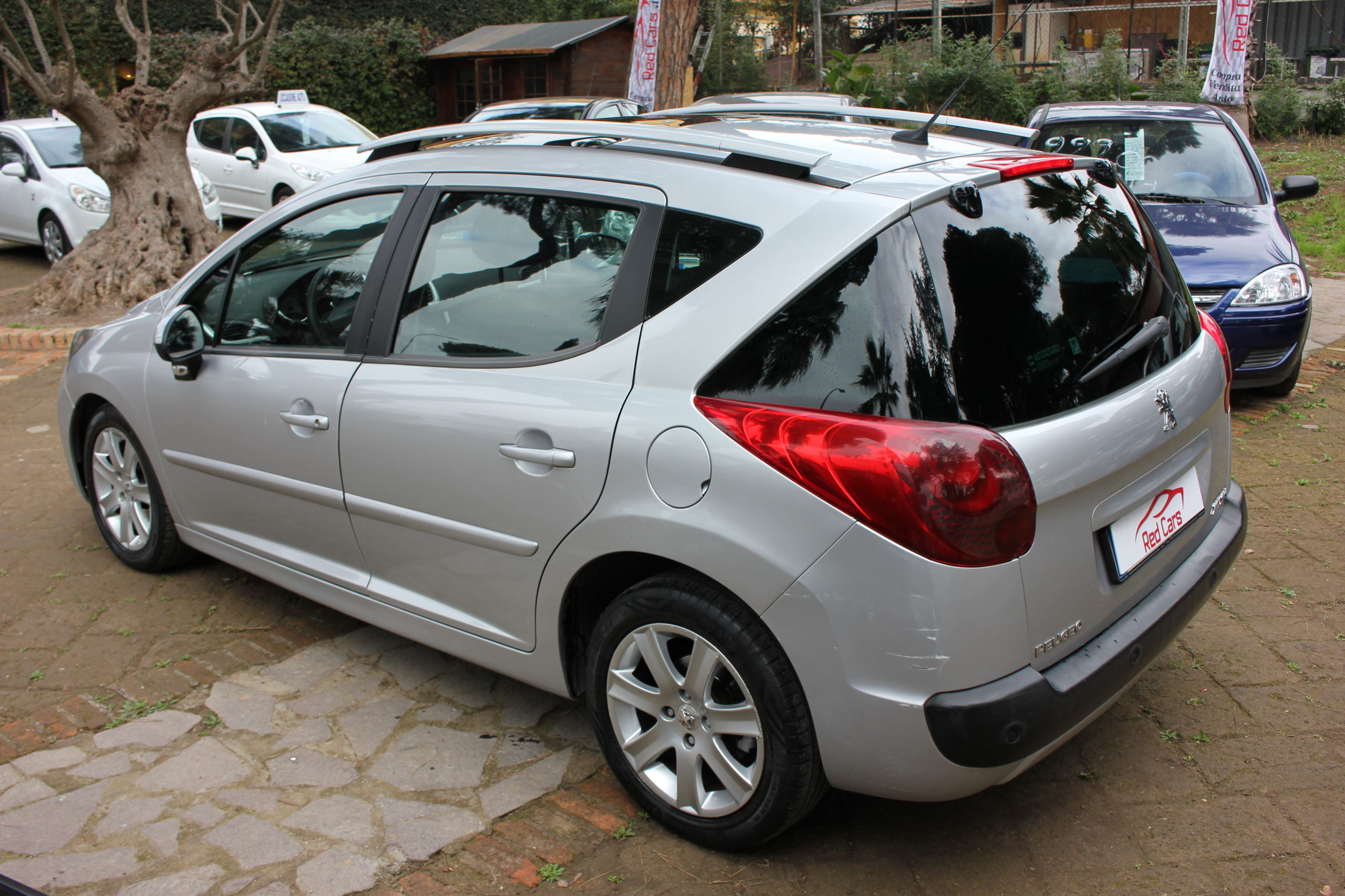 vendita PEUGEOT 207 SW ALLURE Red cars via cropani 65 Roma