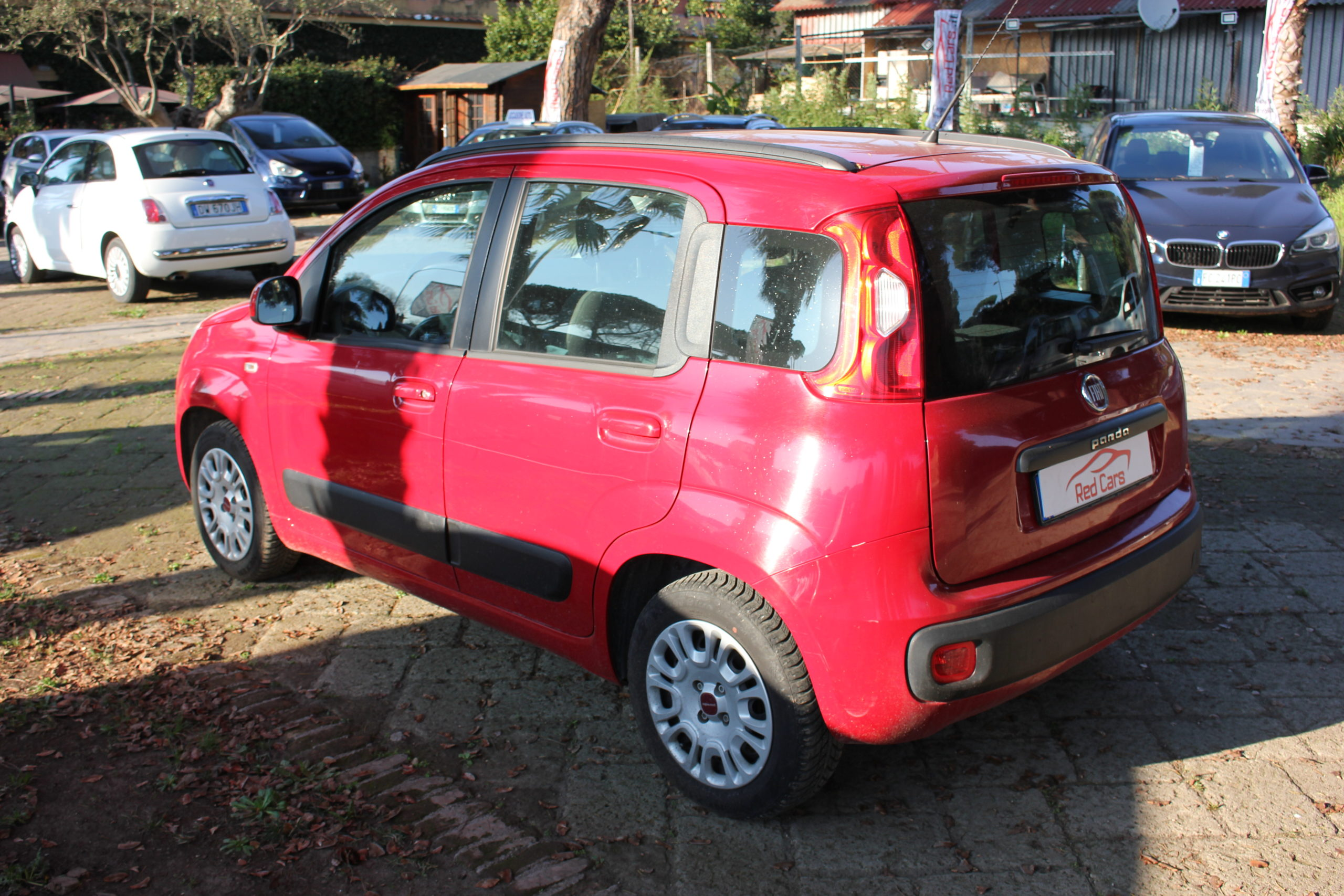 vendita FIAT PANDA 1.2 GPL POP STAR Red cars via cropani 65 Roma