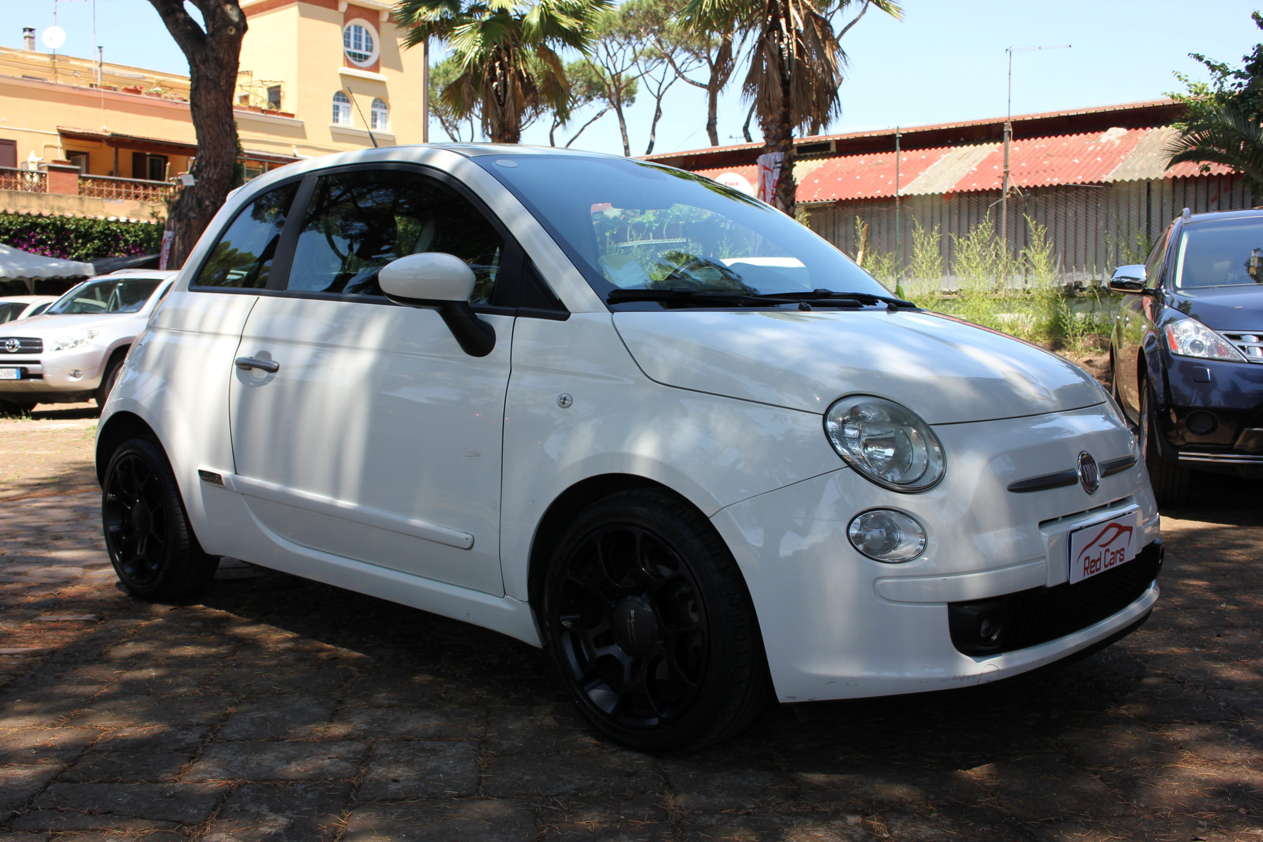 vendita FIAT 500 0.9 TWIN AIR SPORT GPL Red cars via cropani 65 Roma