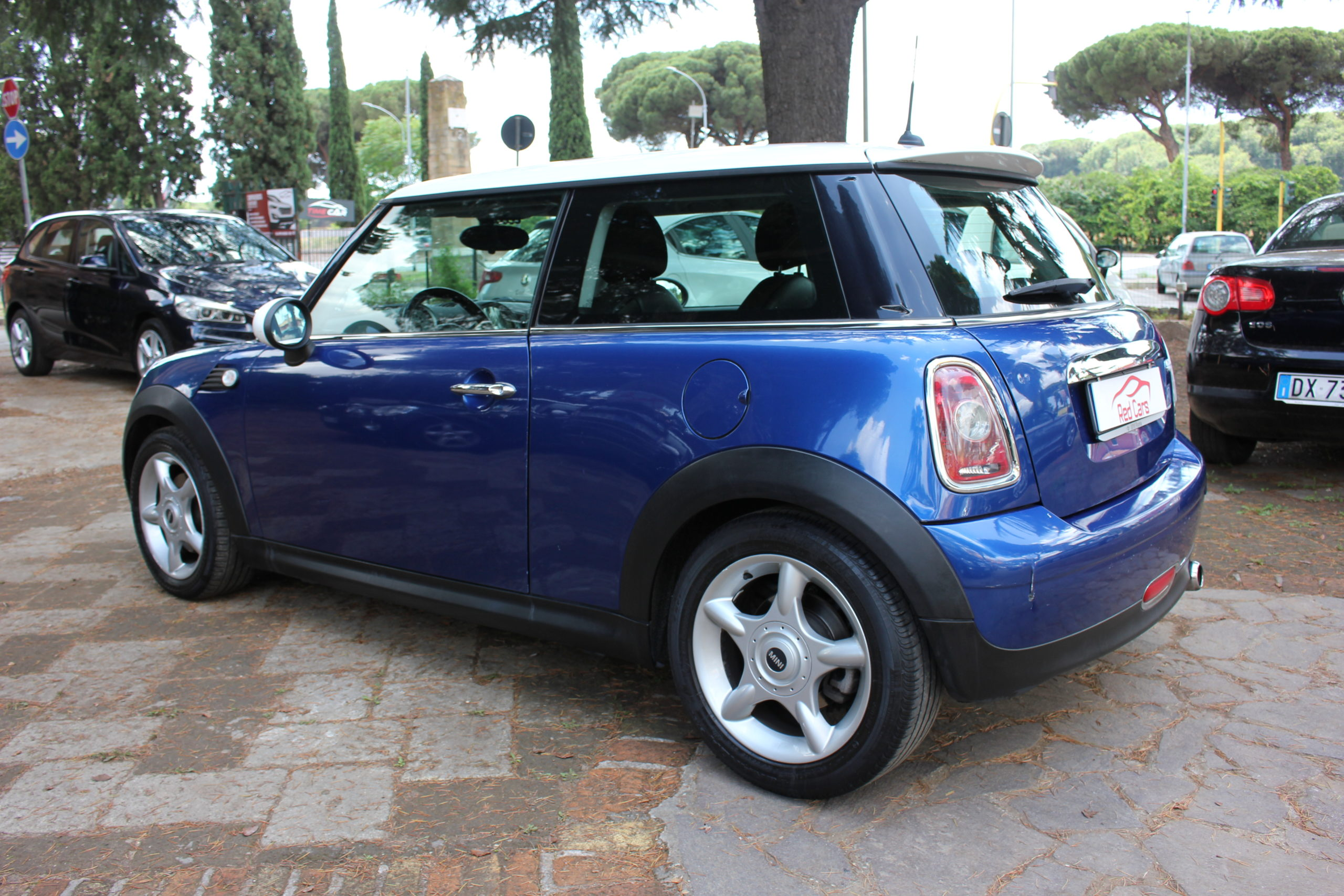 vendita MINI COOPER 1.6 BENZ 120 CV Red cars via cropani 65 Roma
